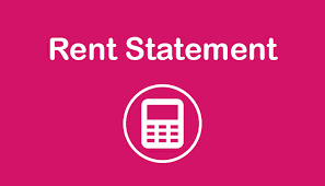 We are making some changes to the way we manage our Rent Statements.